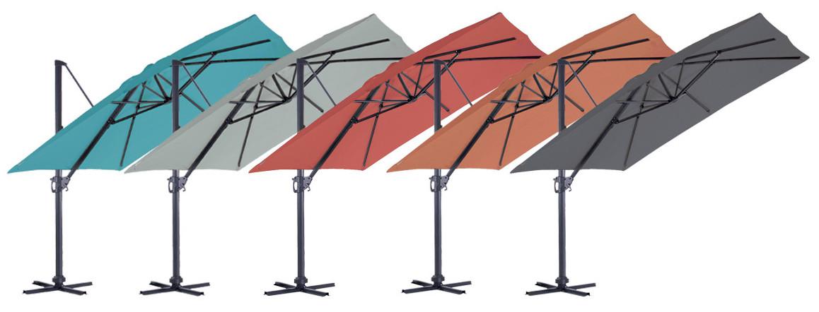 coloris du parasol déporté luxe king ozalide