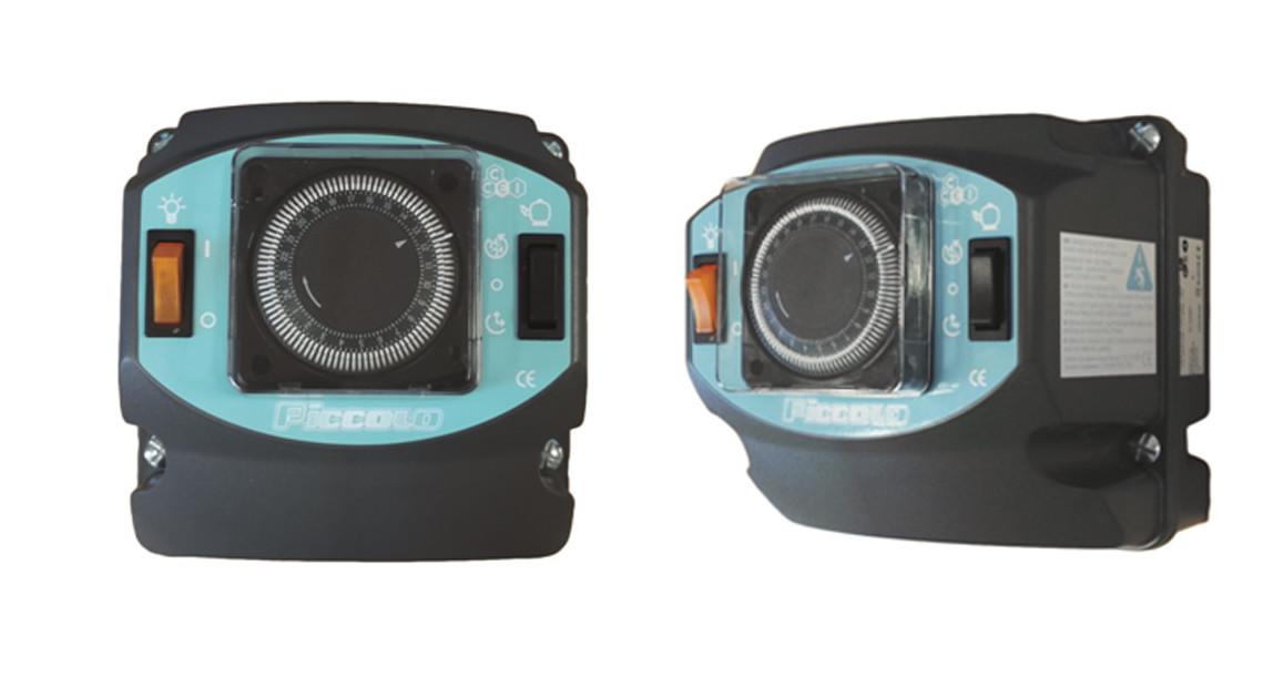 coffret de filtration avec projecteur led 50 w