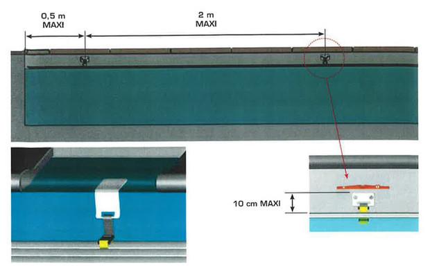 volet automatique solaire oclair avec fin de course piscine center net. Black Bedroom Furniture Sets. Home Design Ideas