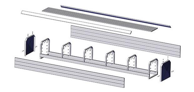 volet piscine banc pvc oclair piscine center net. Black Bedroom Furniture Sets. Home Design Ideas