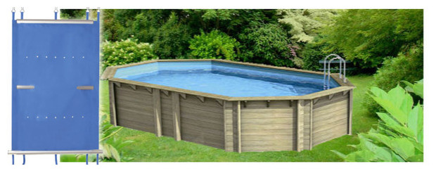 Couverture piscine bois hors sol semi enterr e s curi for Piscine center
