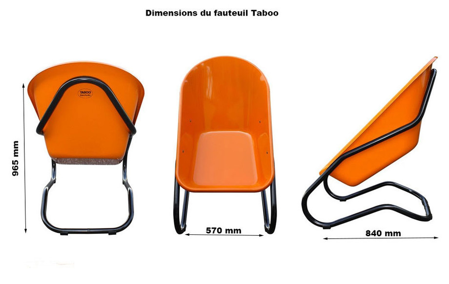 fauteuil taboo dimension