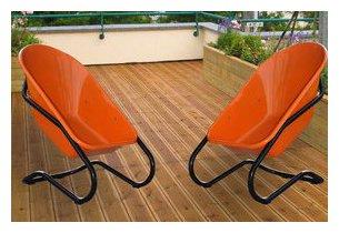 fauteuil taboo en situation terrasse