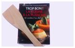 livre de recette pour plancha et desserte CLE 600  Roller Grill en situation