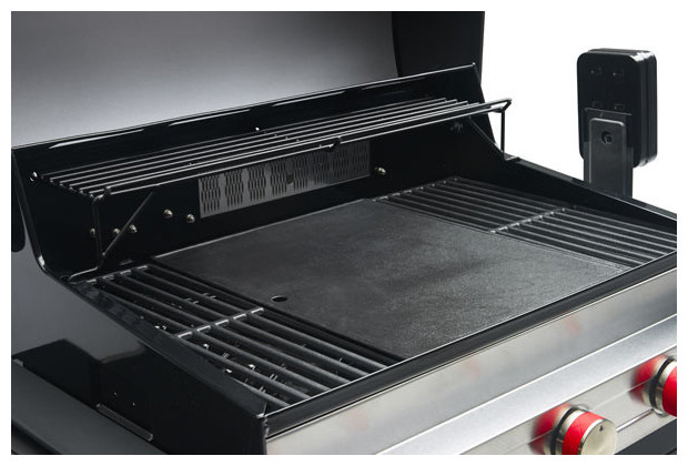 Barbecue gaz avec plancha integree - Plancha cuisine integree ...