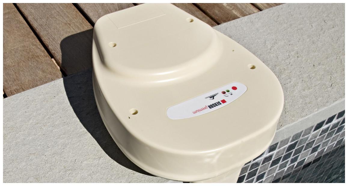 détails de l'alarme de piscine sensor premium pro avec télécommande