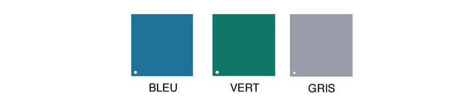 coloris de la bache opaque artic