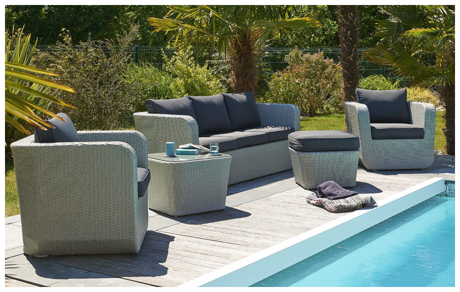 Salon De Jardin Large Gamme Piscine Center Net