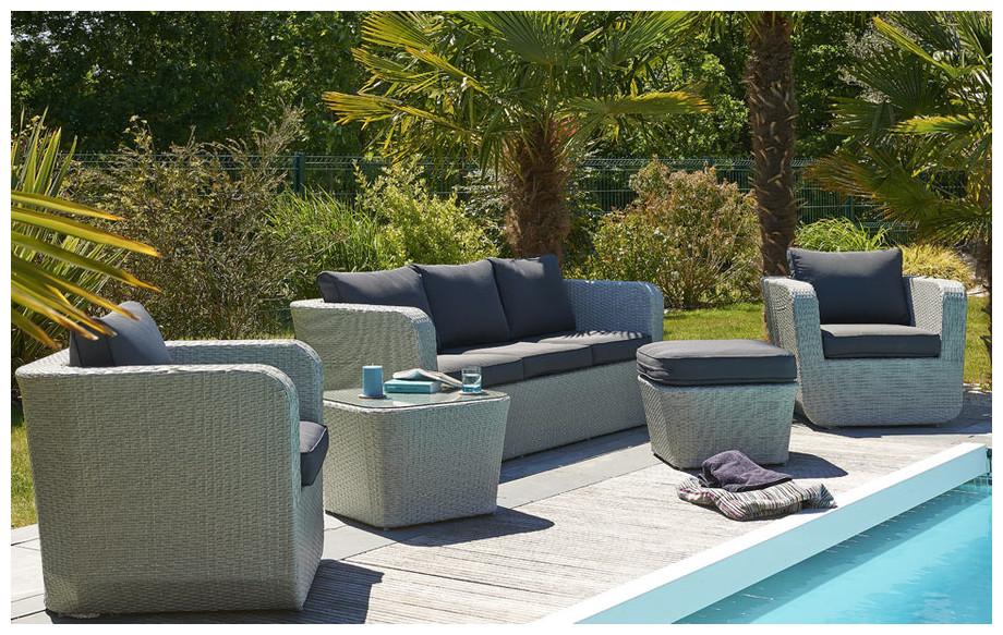 awesome salon de jardin resine tressee petit prix pictures awesome interior home satellite. Black Bedroom Furniture Sets. Home Design Ideas