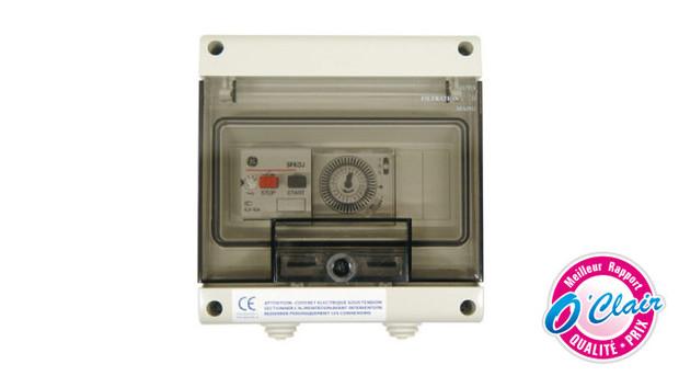 coffret électrique surpresseur oclair - pack polaris 280