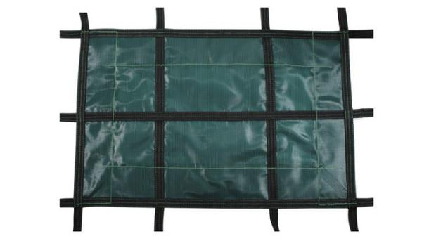 Hivernage piscine id al avec la b che filet super luxe for Bache filet hivernage piscine