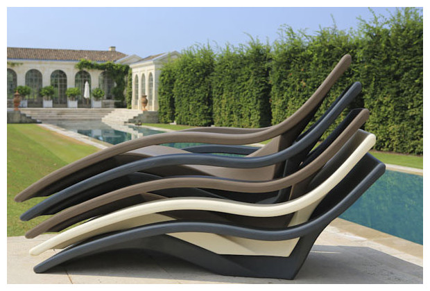 Achat vente de chaise longue ultra design en poly thyl ne for Chaise pour piscine