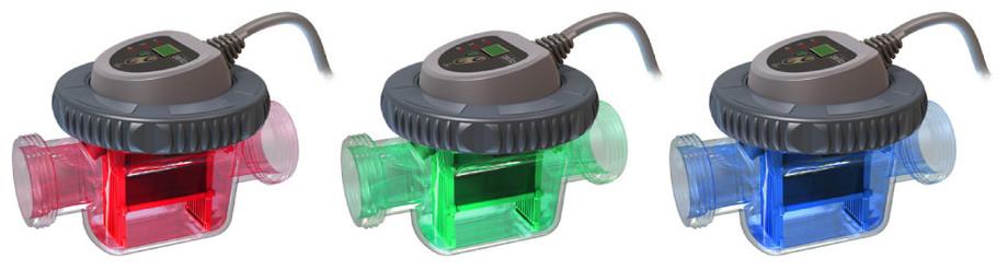 zelia - cellule avec indicateur lumineux température ou salintié