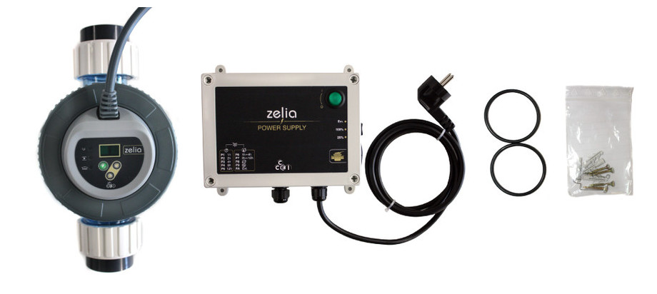 zelia Electrolyseur  - elements
