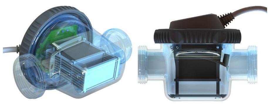 zelia - electrolyseur piscine compact - vues