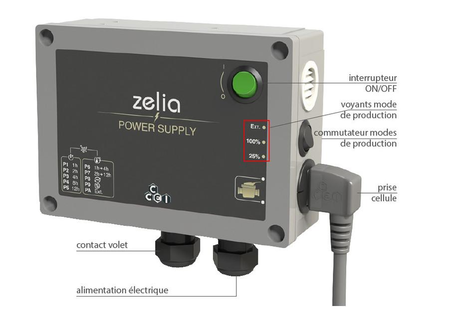 Electrolyseur piscine Zelia ZLT - jusqu'à 75 m³
