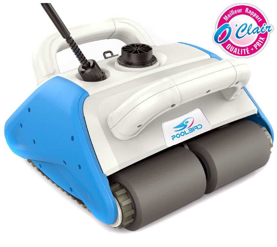 Robot de piscine sans fil poolbird avec batterie flottante for Piscine center