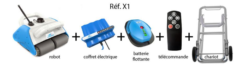 Filtration de piscine pompe filtre et robot de piscine for Robot piscine batterie