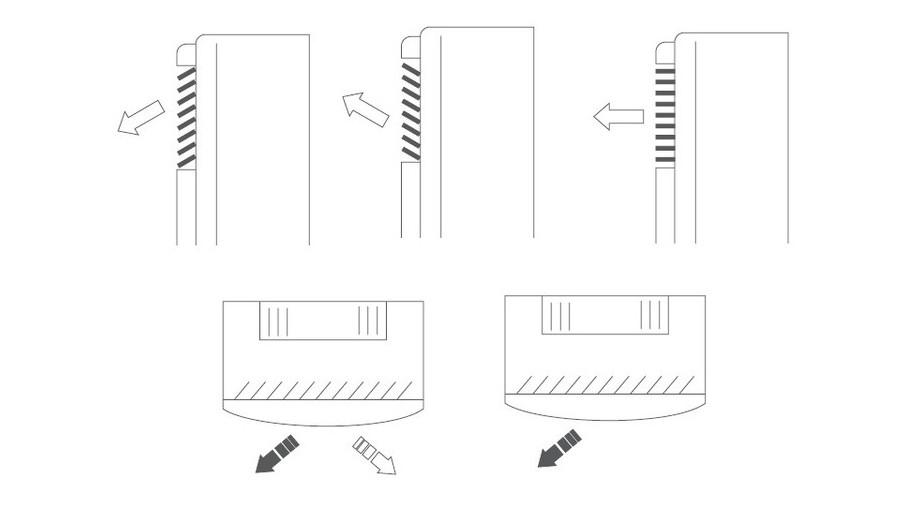 Déshumidificateur O'Clair vertical pour piscines jusqu'à 60 m² - ventliation