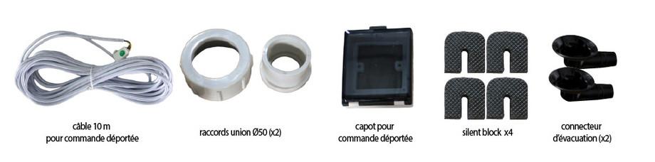 Pac First Nova Inverter - accessoires fournis