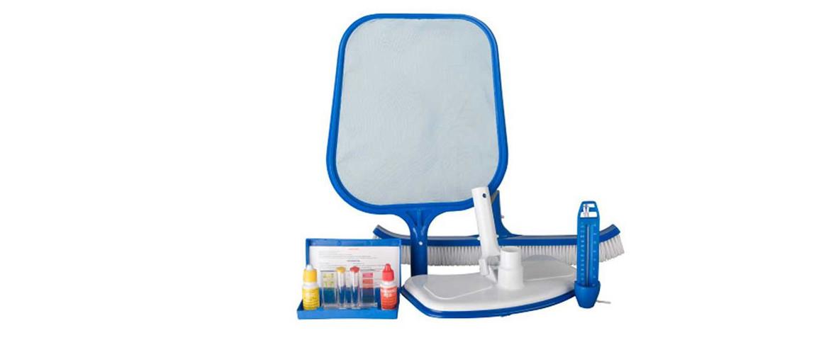 kit de nettoyage de piscine 5 pièces gré