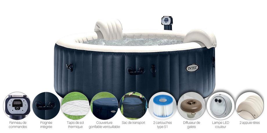 spas gonflables intex piscine center net. Black Bedroom Furniture Sets. Home Design Ideas