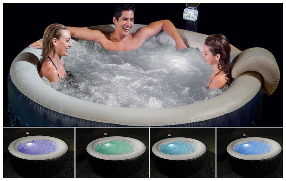 pure spa intex led