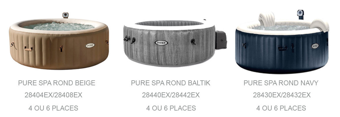 pure spa rond intex