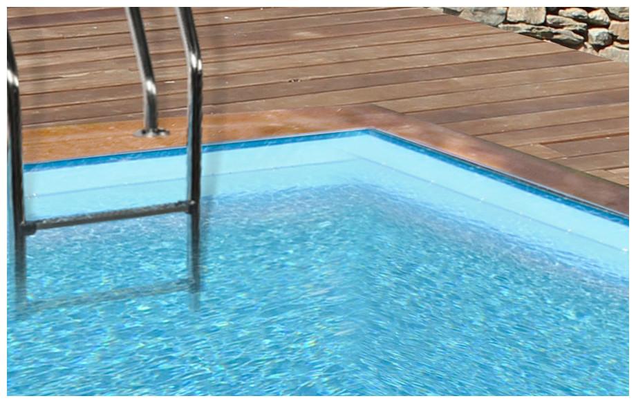 piscine bois carrée en kit Woodfirst Original liner