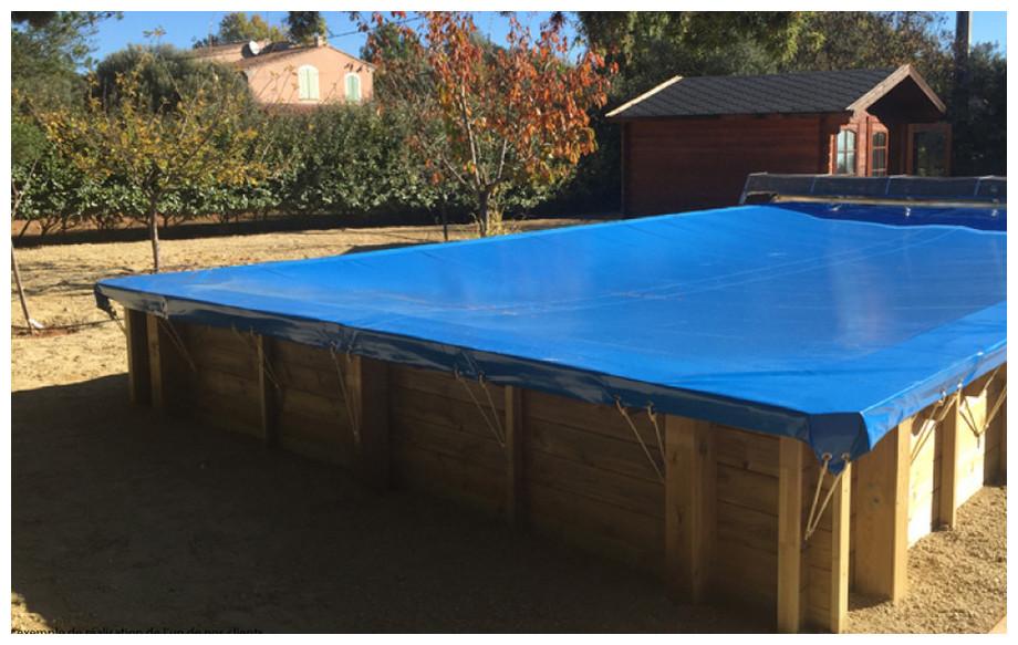 Woodfirst original kit piscine bois 600x400x133 piscine for Installation piscine bois
