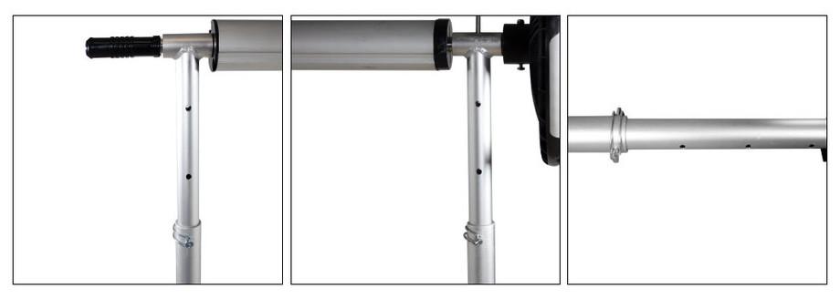 Enrouleur télescopique pour bâche à bulles - 4 et 5 m