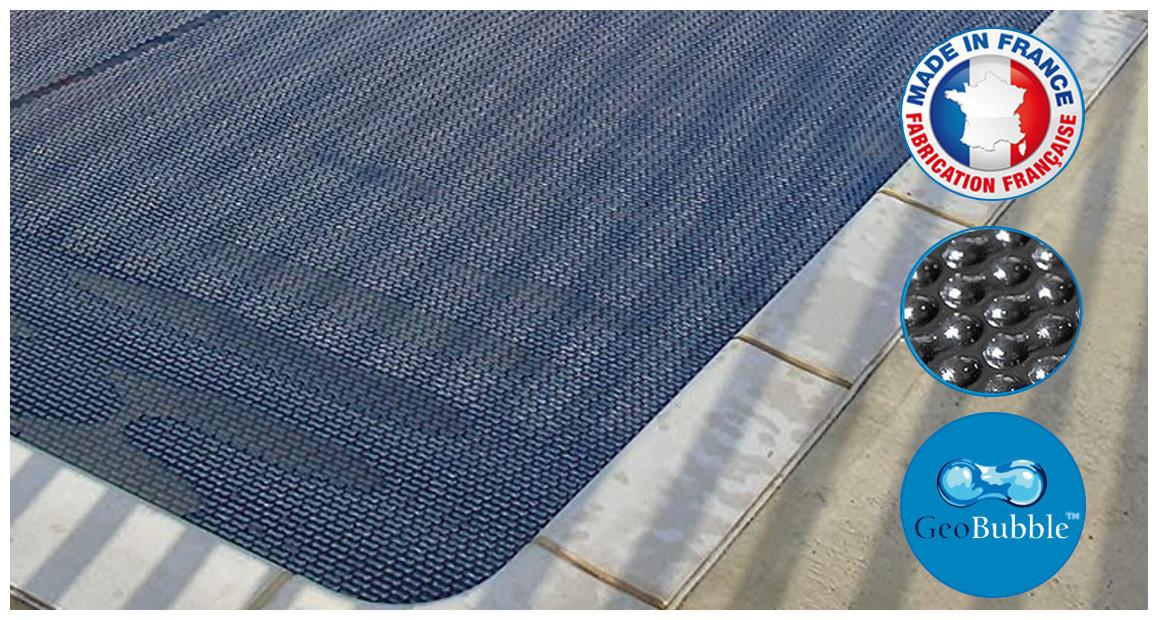 bâches à bulles energy guard bleu/noir quatro 500 microns