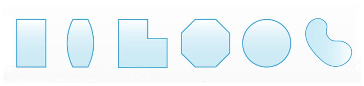 dimensions sur mesure de la bâche à bulles enegy guard pour piscines
