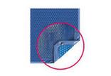 Bâche solaire Quatro bleue pour piscine polyester Escales