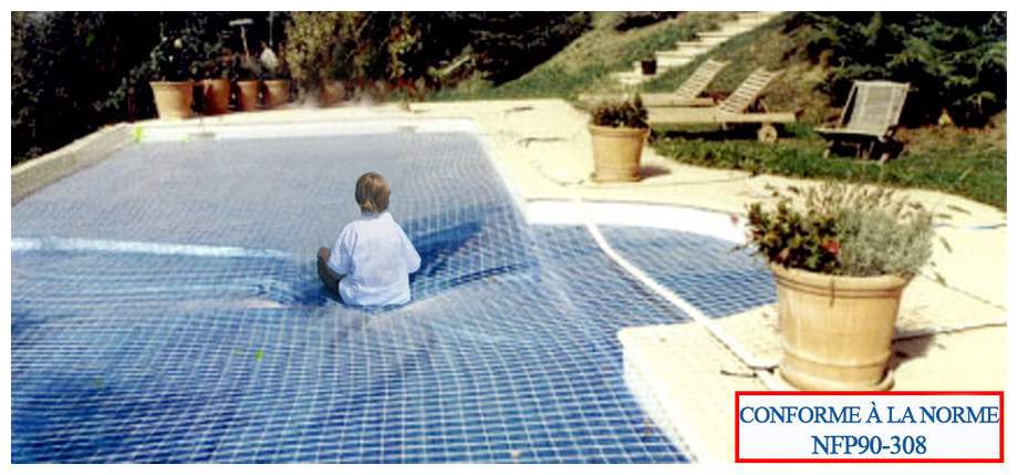 Securibul bache toute saisons s curit et protection for Protection enfant piscine