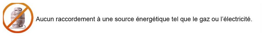 logo nul raccordement du brûleur bioéthanol