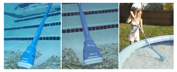 Aqua broom aspirateur petite piscine et spa par pool for Aspirateur piscine automatique