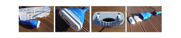 aqua broom aspirateur nettoyeur spa et piscines