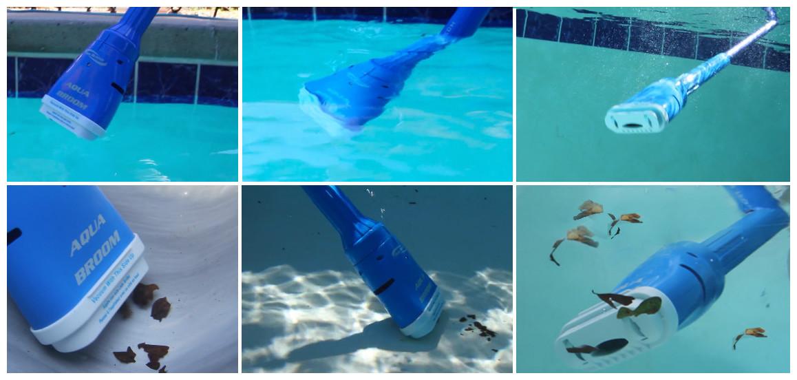 descriptif de l'aquabroom poolblaster pour piscine et spa