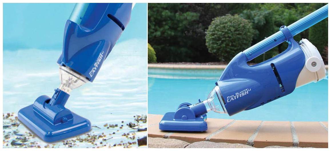 aspirateur rechargeable pour piscine poolblaster catfish
