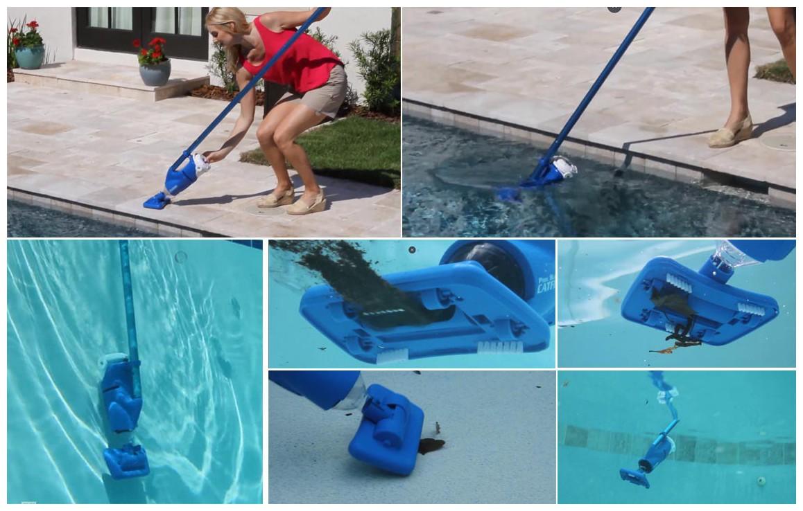 fonctionnement de l'aspirateur de piscine catfish poolblaster