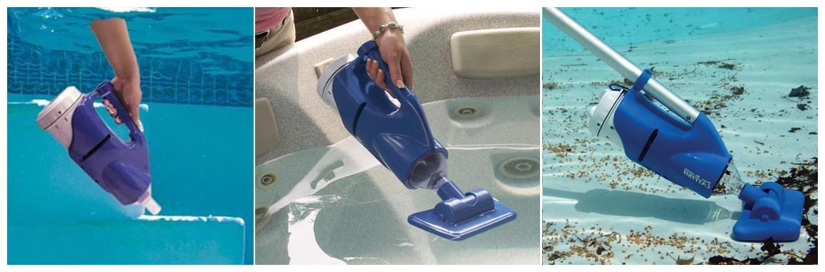 mode de fonctionnement de l'aspirateur de piscine catfish poolblaster