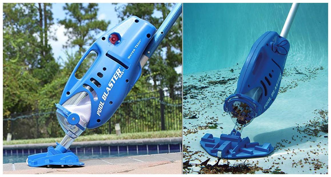 aspirateur de piscine et spa poolblaster max en situation