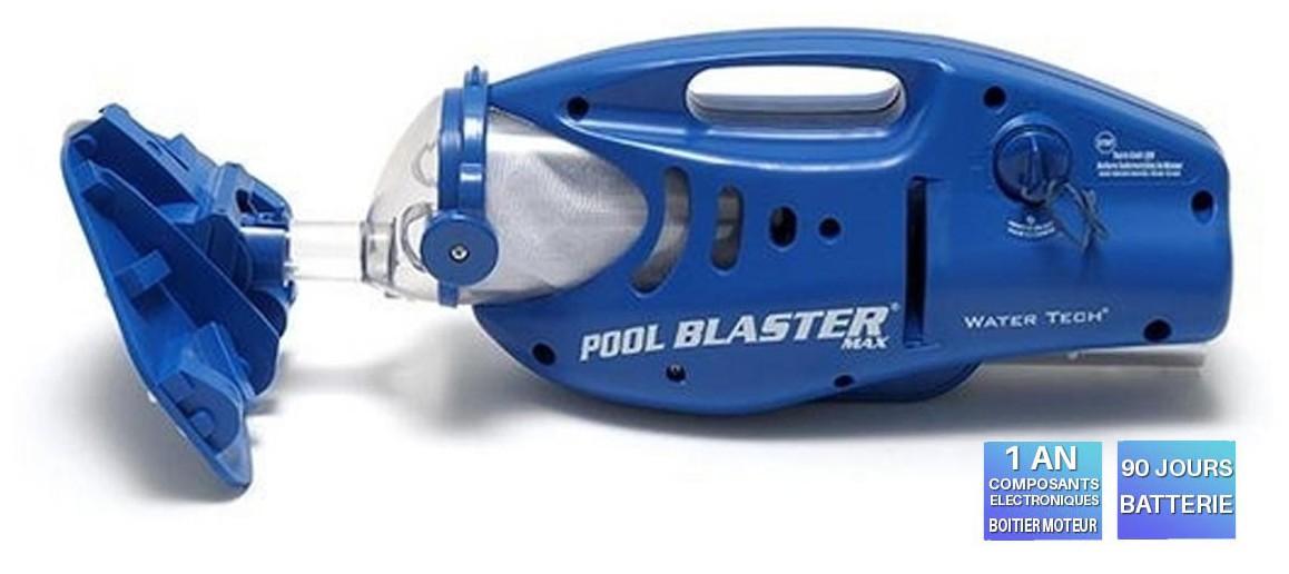garantie aspirateur Pool Blaster Max
