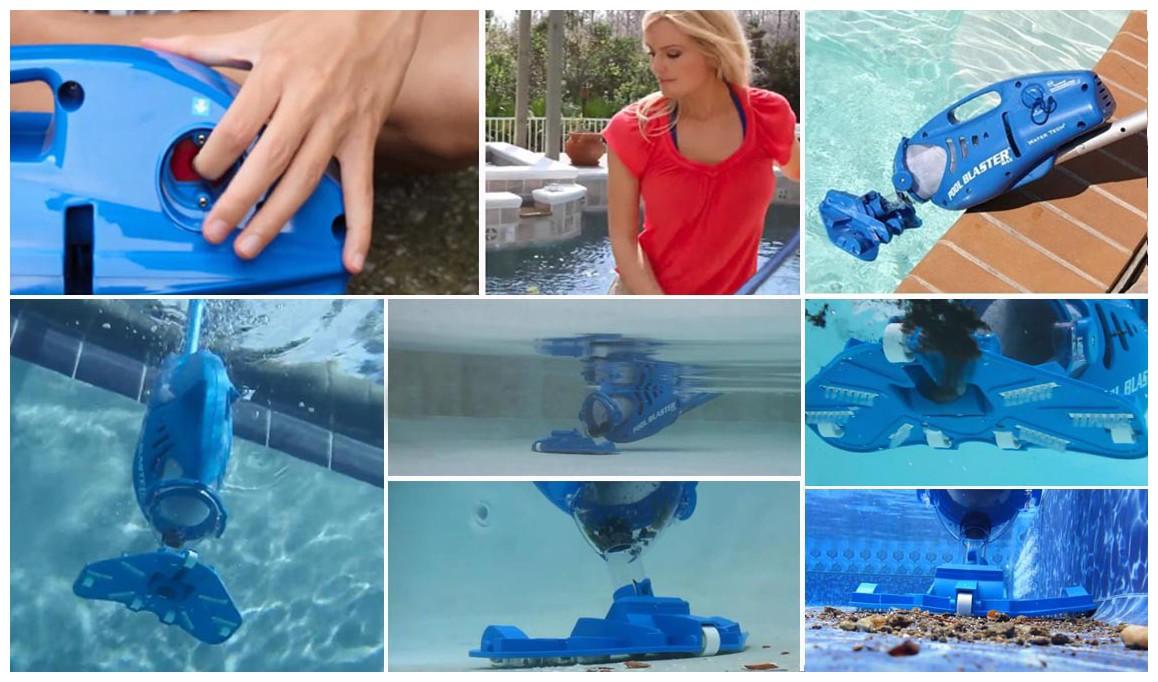 fonctionnement de l'aspirateur de piscine Poolblaster Max