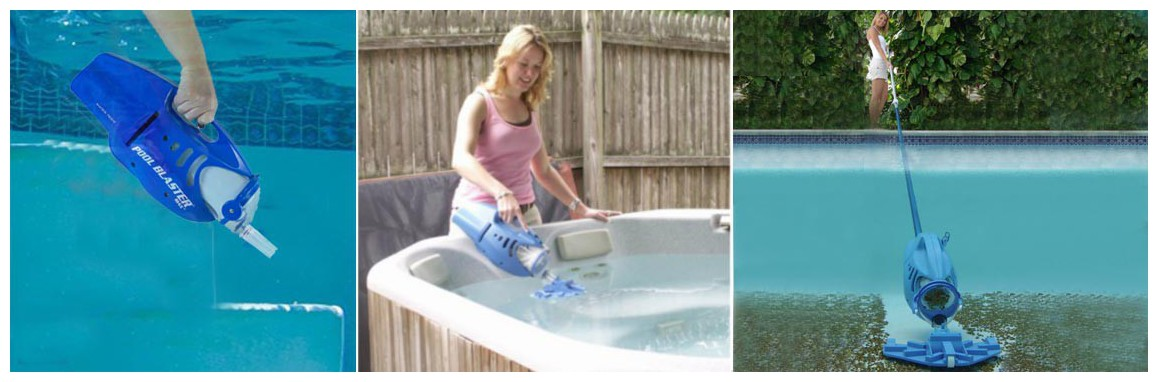 mode de fonctionnement de l'aspirateur de piscine poolblaster max