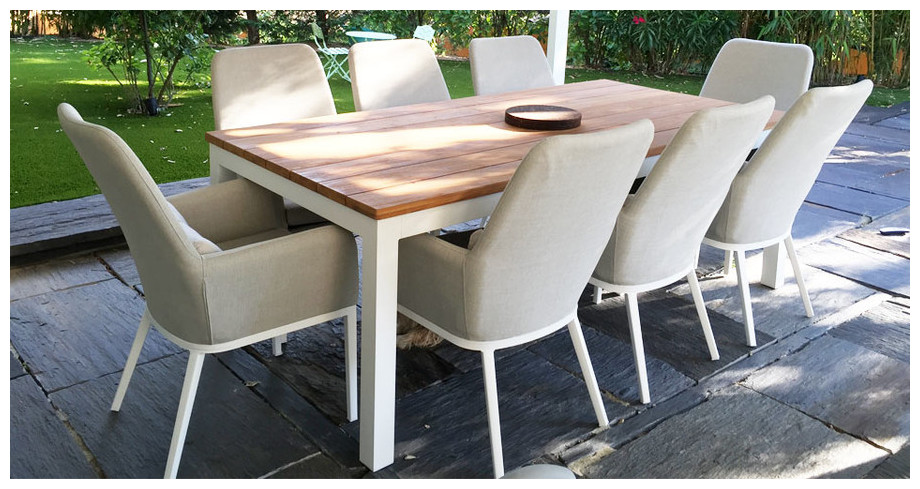 Best Table De Jardin Teck Aluminium Images - Awesome Interior Home ...