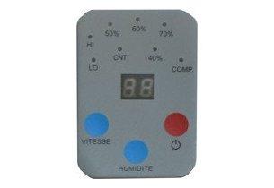 deshumidificateur DTF850/950E - panneau affichage