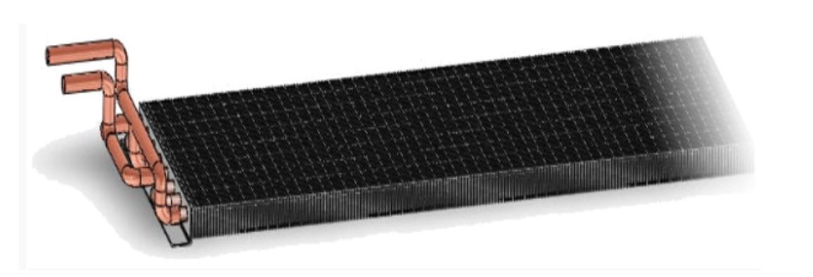 batterie chauffage eau chaude pour déshumidificateur teddington