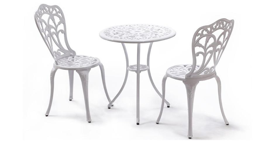 Romance Table Et Chaises De Jardin 2 Places Jardin